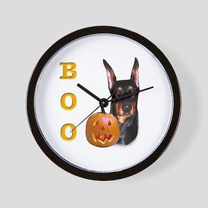 Dobie Boo Wall Clock