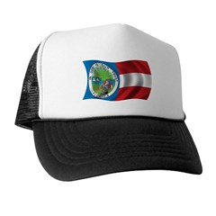 Wavy 1861 Flag Trucker Hat