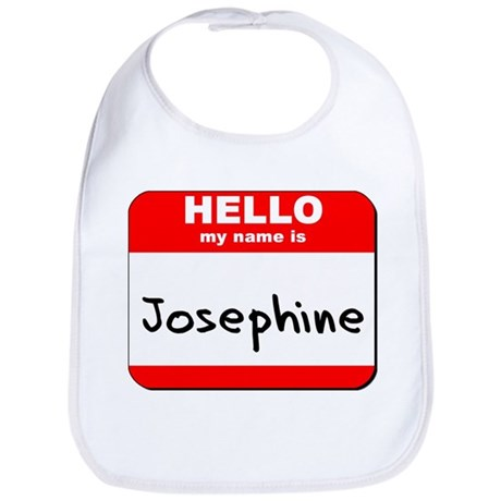 Hello my name is Josephine Bib