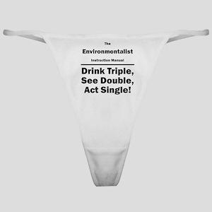 Environmentalist Classic Thong