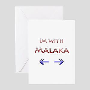 Malaka Greeting Card