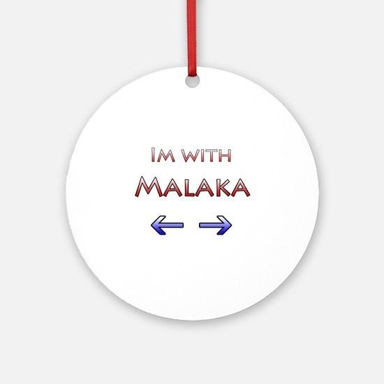 Malaka Ornament (Round)