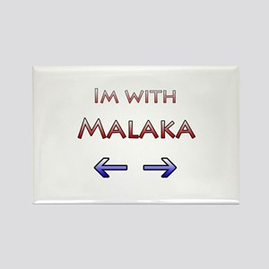 Malaka Rectangle Magnet