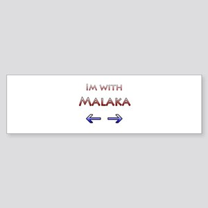 Malaka Bumper Sticker