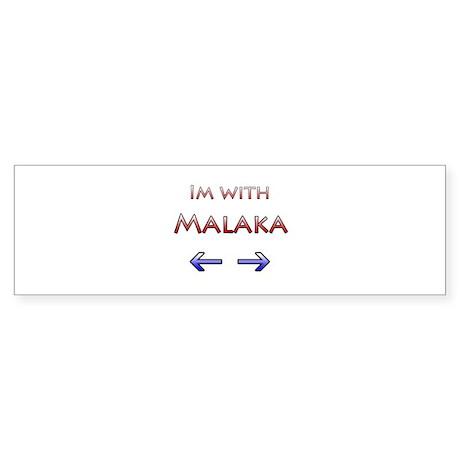 Malaka Bumper Sticker