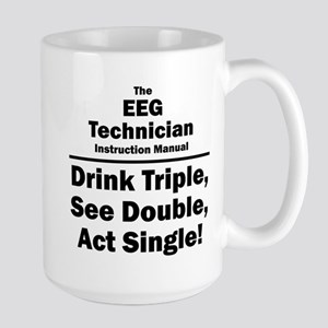 EEG Technician Large Mug