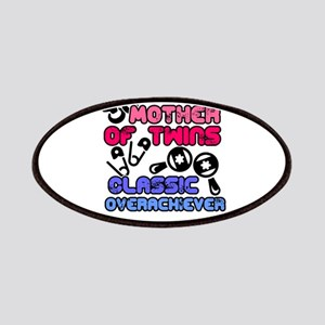 Mother Of Twins Classic Overachiever Gifts Patch
