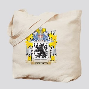 Jefferys Coat of Arms - Family Crest Tote Bag
