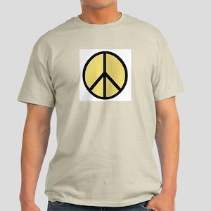 Peace Women Ash Grey T-Shirt