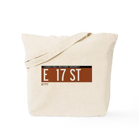 17th Street in NY Tote Bag