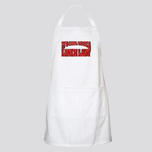 It's Cool To Be A Lunch Lady BBQ Apron