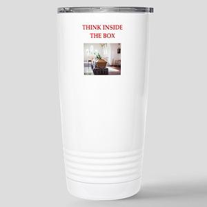 undertaker mind Stainless Steel Travel Mug