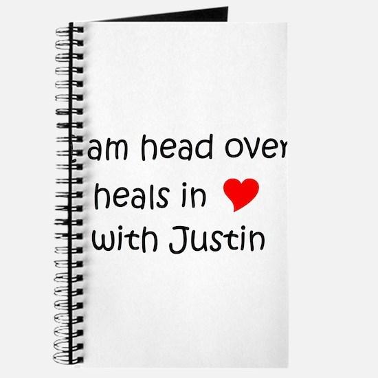 Cool I love justin Journal