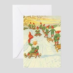 God Jul och Godt Nyatt År Swedish Christmas Card