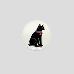 Egyptian Cat Goddess Bastet Mini Button