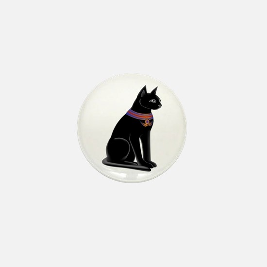 Egyptian Cat Goddess Bastet Mini Button