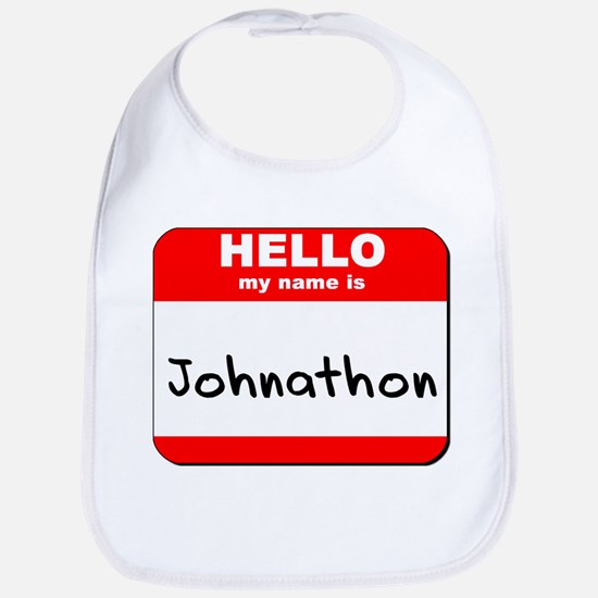Hello my name is Johnathon Bib