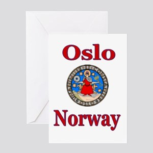 Oslo Norway Greeting Cards