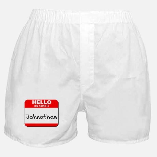 Hello my name is Johnathan Boxer Shorts