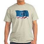 Wavy Burbank Flag Light T-Shirt