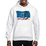 Wavy Burbank Flag Hooded Sweatshirt