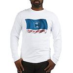 Wavy Burbank Flag Long Sleeve T-Shirt