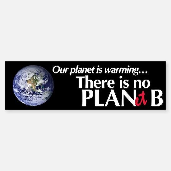 Planet B Bumper Bumper Bumper Sticker