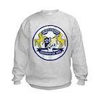 USS BRUMBY Kids Sweatshirt