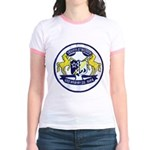 USS BRUMBY Jr. Ringer T-Shirt