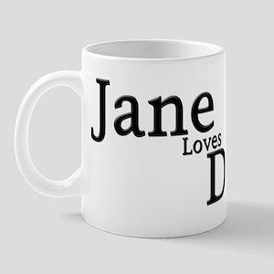 Jane loves Dick 2 Mug