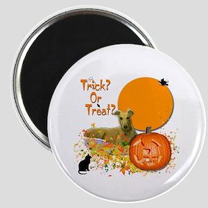 Halloween Greyhound Magnet