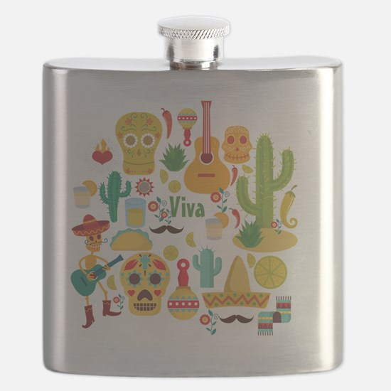 Funny Mariachi Flask