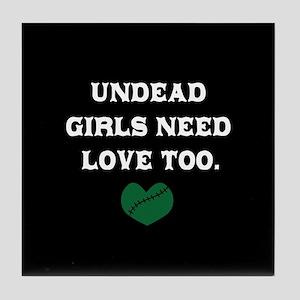Undead Love Tile Coaster