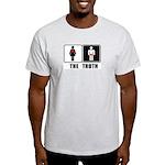 The Truth Ash Grey T-Shirt