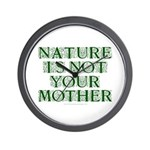 Mother Nature? Wall Clock