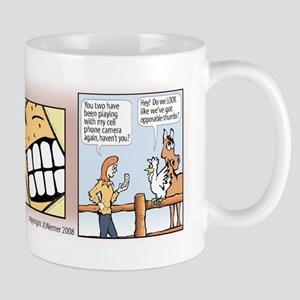 "Mac & Jill ""Say Cheese"" Mug"