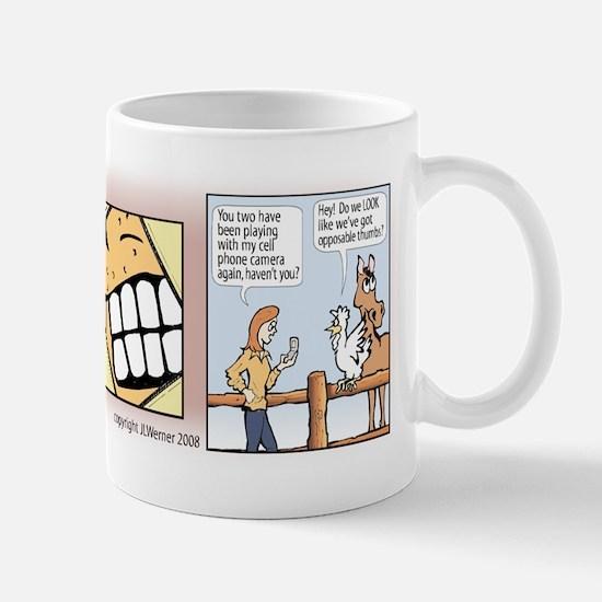 "Mac & Jill ""Say Cheese"" Mug"