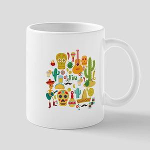 viva mexico Mugs