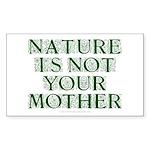 Mother Nature? Sticker