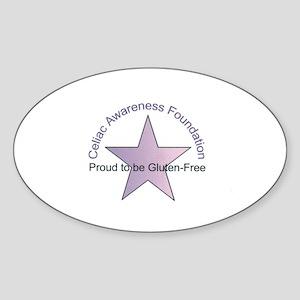 Celiac Disease Awareness Oval Sticker