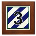 3rd Brigade Framed Tile
