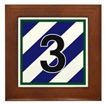 3rd Brigade Framed Tile