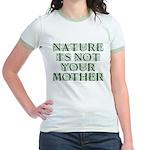 Mother Nature? Jr. Ringer Tee