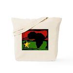 Marcus Garvey Lion of Judah Rasta Tote Bag