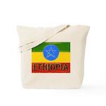Rasta Gear Shop Ethiopia Flag Tote Bag