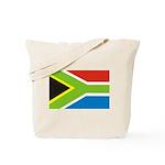 Rasta Gear Shop South African Flag Tote Bag