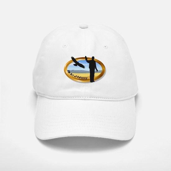 The Art of Falconry - oval Baseball Baseball Cap