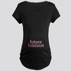 Future Feminist Maternity Dark T-Shirt