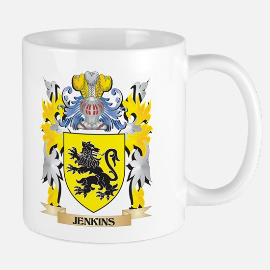 Jenkins Coat of Arms - Family Crest Mugs