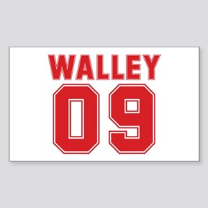 WALLEY 09 Rectangle Sticker